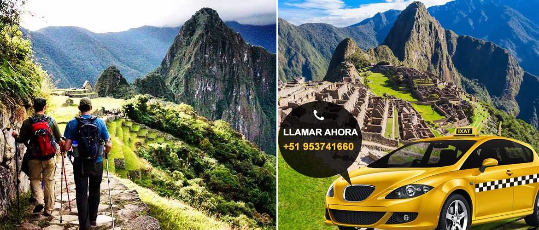 Servicio de taxi Privado a Machu Picchu por Hidroeléctrica