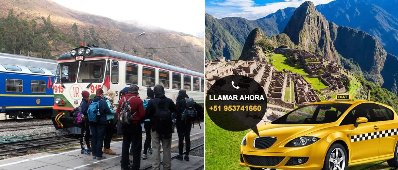 Aeropuerto de Cusco a la Estación de Ollantaytambo