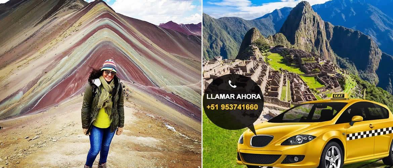 Taxi desde Cusco a la Montaña de Colores