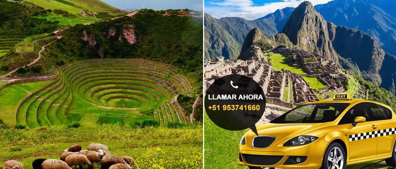 Taxi para Ollantaytambo y Maras Moray