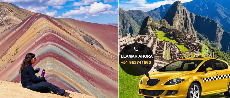 Transporte Turistico para la Montaña de Colores