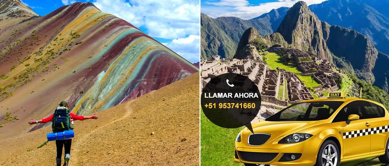 Transporte del Hotel Cusco a la Montaña de Colores Vinicunca