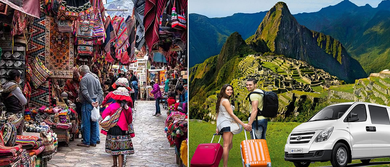 Ruinas de Pisac, Mercado de Pisac - Taxi Cusco