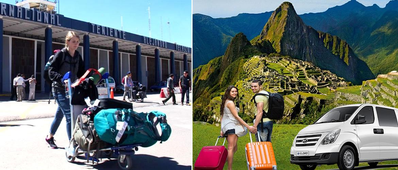 Distancia del Aeropuerto de Cusco a la Plaza de Armas de Cusco