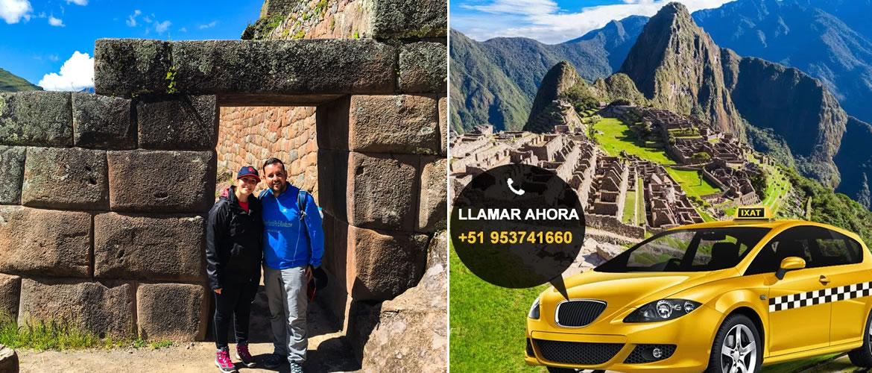 Machu Picchu Taxi Tarifas Transporte Turístico Cusco Peru