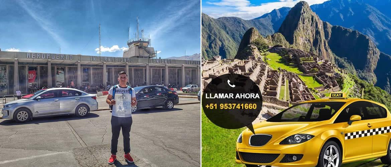 Taxi desde el Hotel a la estación de Ollantaytambo