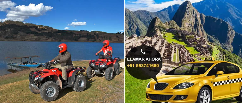 Traslado desde el Aeropuerto de Cusco para el Tour Cuatrimotos Maras Moray