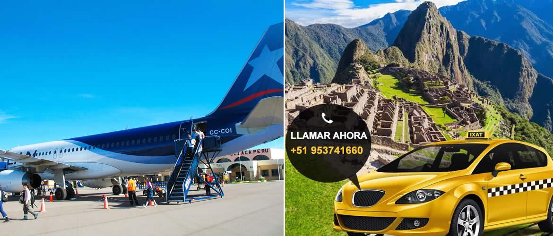 Taxi desde Urubamba al Aeropuerto de Cusco